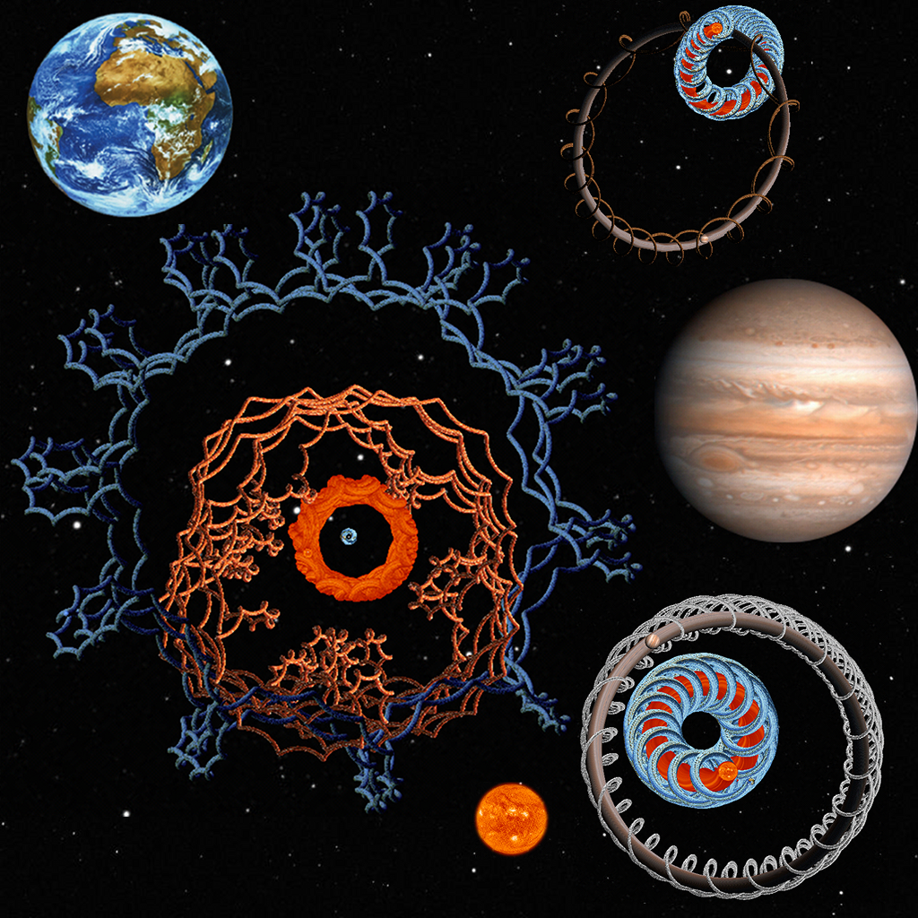 Gillian's Planets - Orbital Planet Simulator and Screensaver