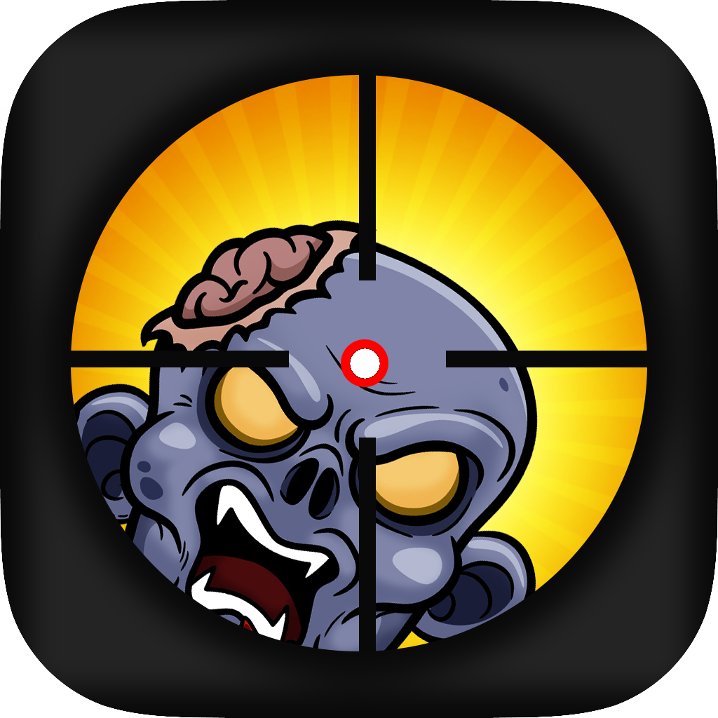 Mad Zombie Sniper - Shoot The Evil Plants PRO