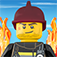 There's a fire in LEGO City