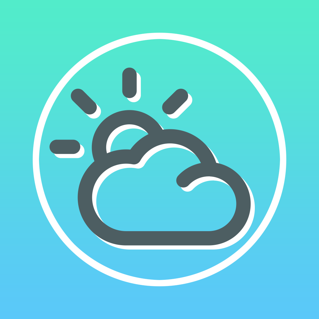 A Weather Minimalist Forecast - Radar Solar of Fahrenheit Temperature in The World icon