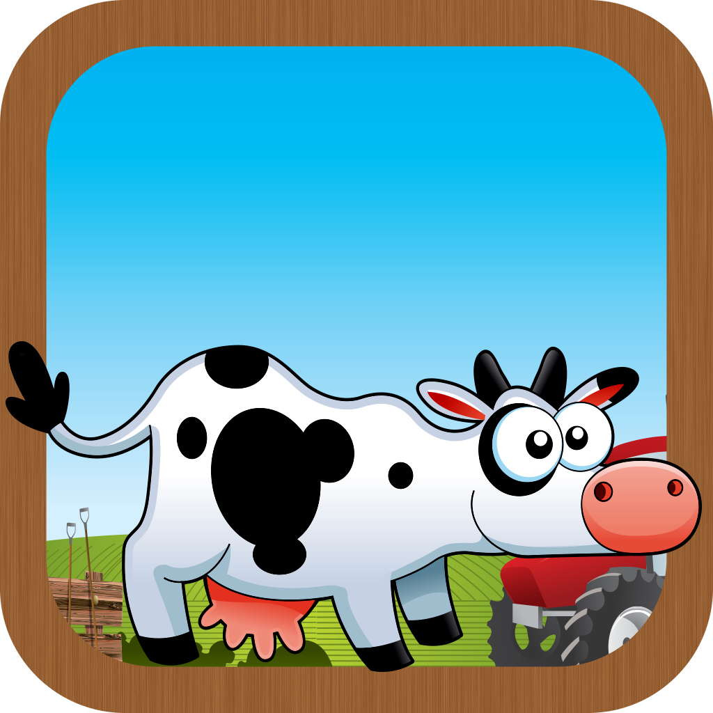 Farm Animal Frenzy Tap Puzzle Matching Game