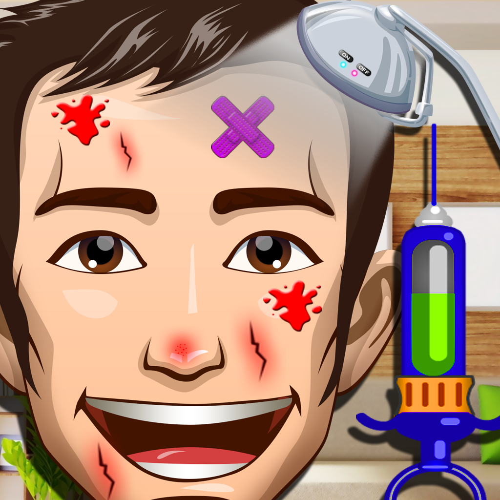 Awesome Man Doctor Fun - Makeover Games for Girls and Boys