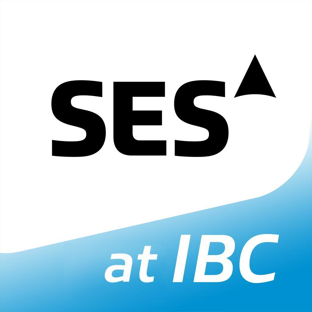 SES stand at IBC - Hall 1, B1.51