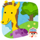 This educational game will teach your child about animals and the sounds they make through mix and match puzzles