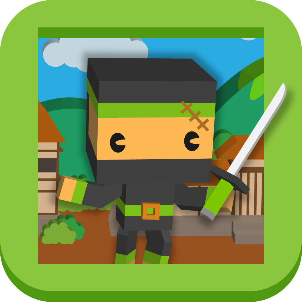 Block Ninja Fighters - Super Fighting Pixel Games Edition icon