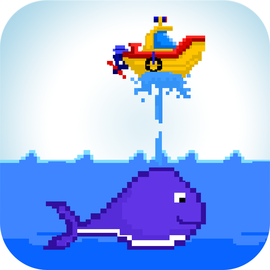 8 Bit Boat - A Tiny Flying Adventure with the Flappy Whale