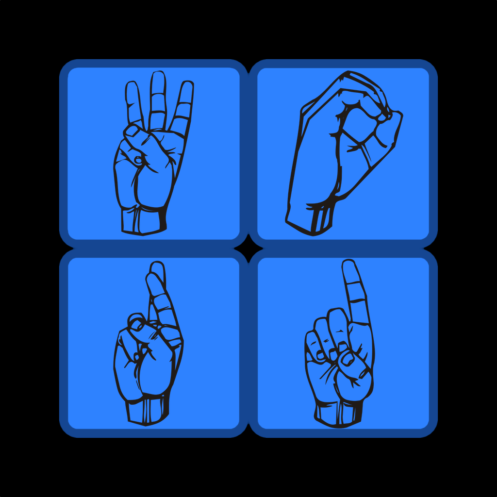 ASL Word Square