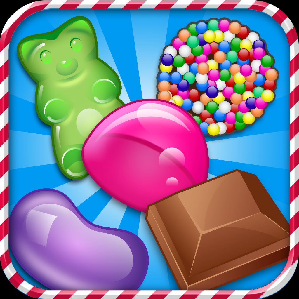Candy Chocolate Jelly Flow Mania - A Free Dots Match Connecting Game Full Version