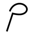 Line Path Icon
