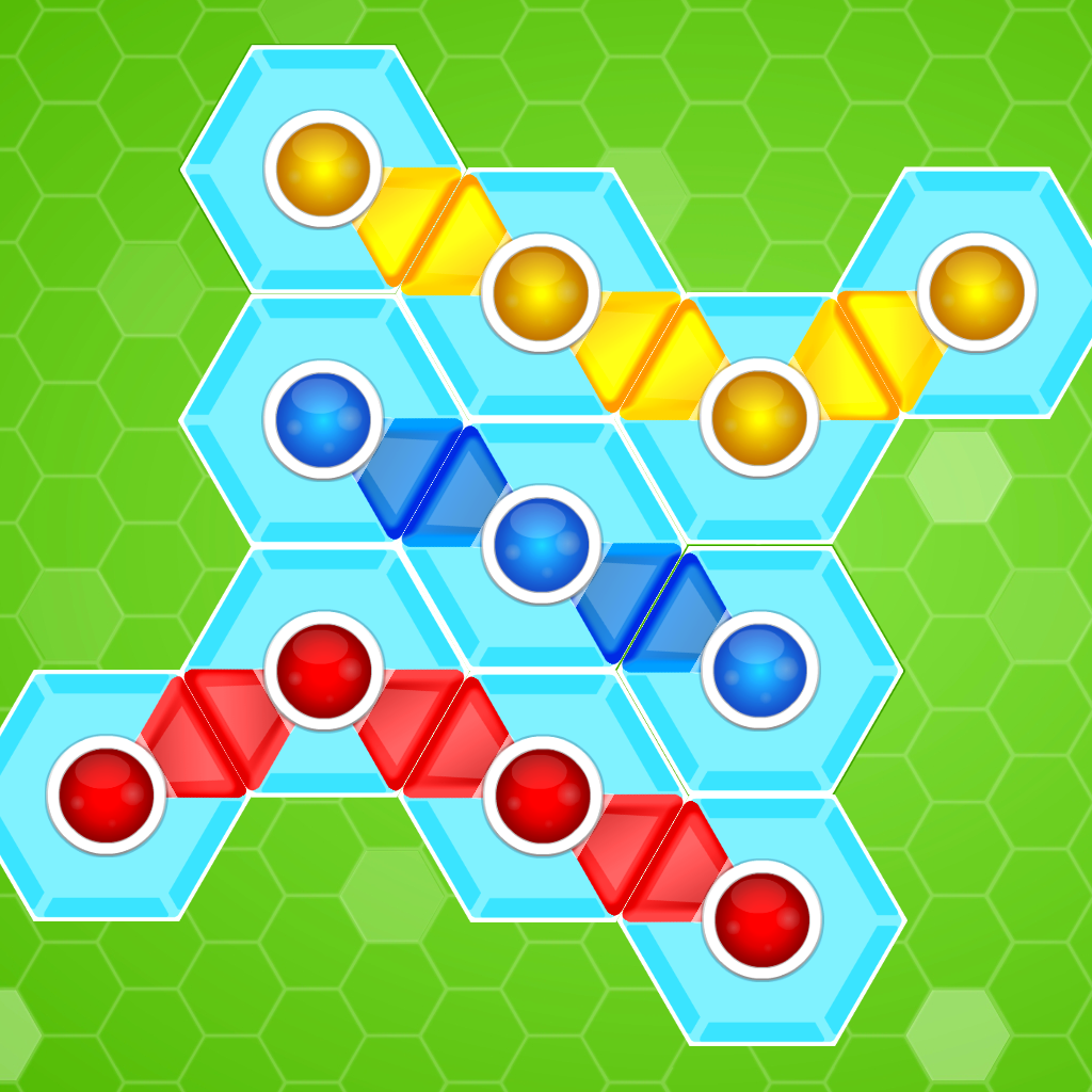 Hexagonator - Free Challenging Hexagon Brain Teaser