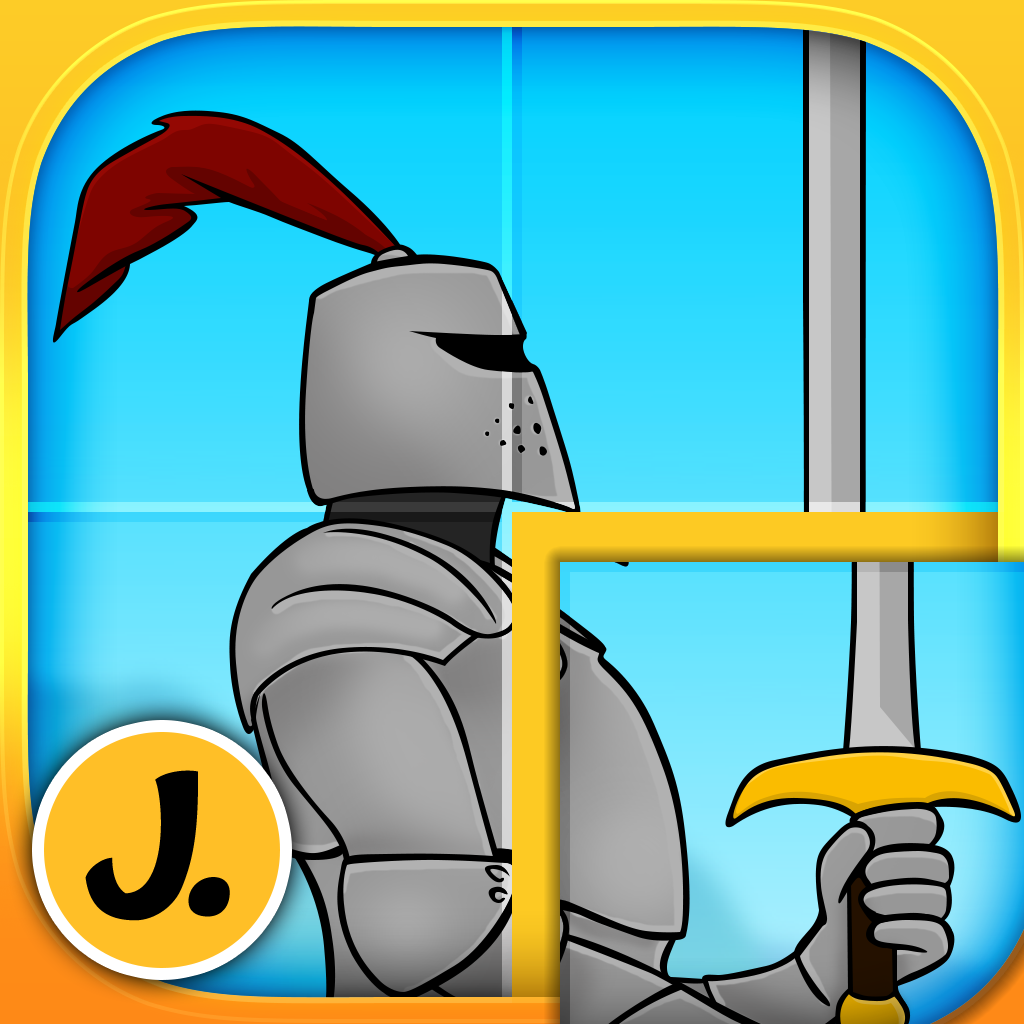 Knights and Dragons Puzzles - Logic Learning Game for Toddlers and Preschool Kids - Premium