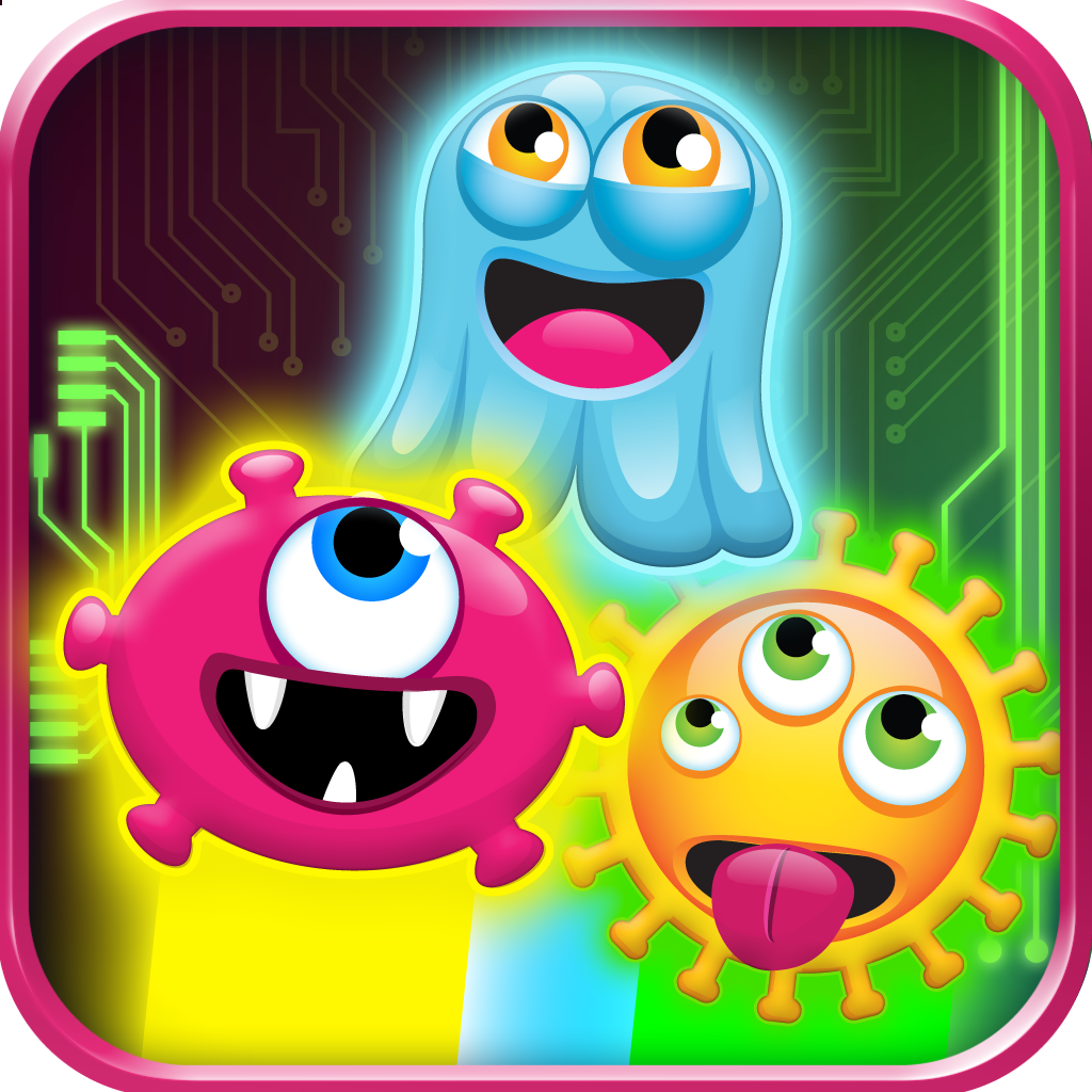 Annoying Glow Virus Jump - Monsters in the Machine - Full Version
