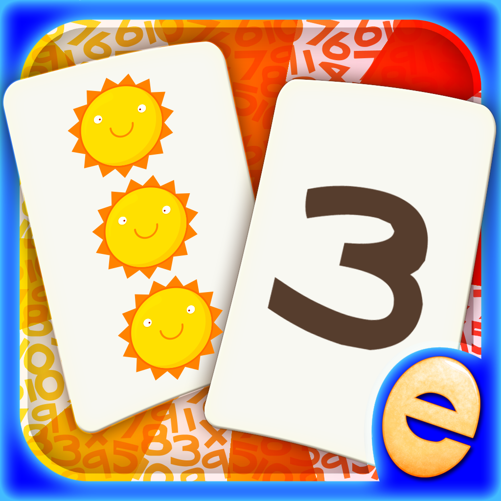 Numbers Memory Match! Numbers and Counting Game for Kids