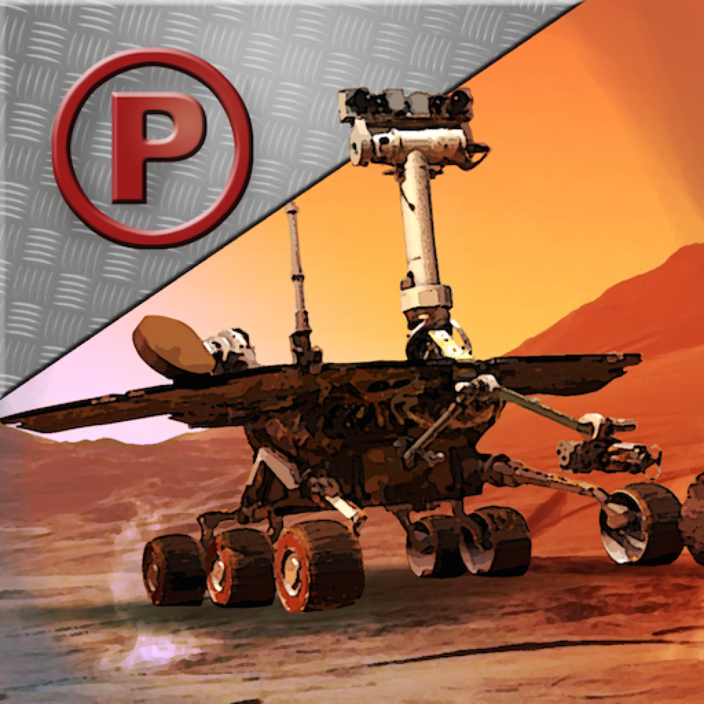 3D Mars Rover Parking - Impossible Driving Simulator Games Space Edition