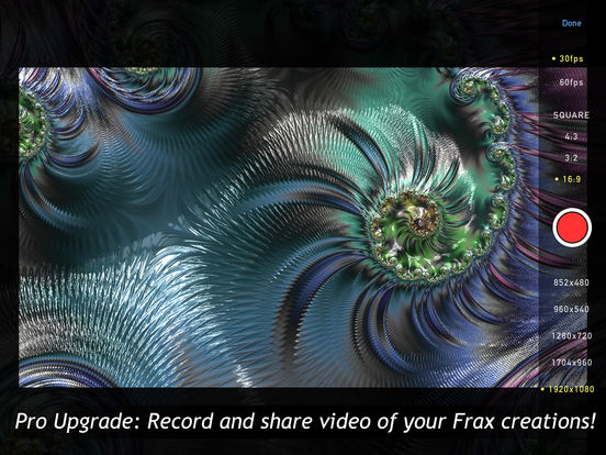 Frax HD - The First Realtime Immersive Fractals Screenshot
