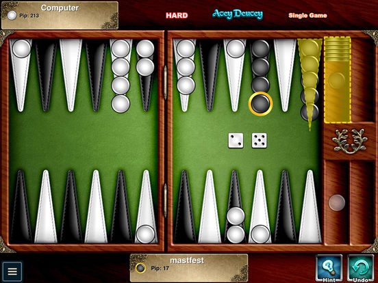 Backgammon Premium - Multiplayer Online Board Game Screenshot