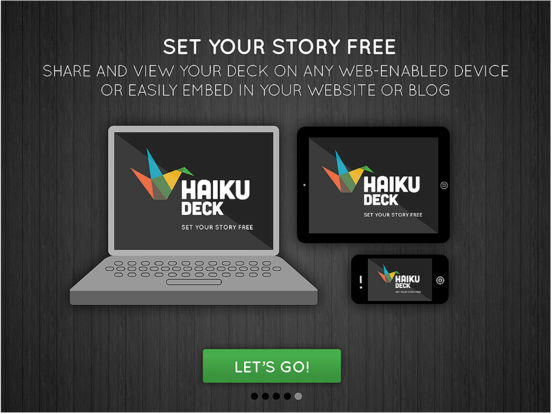 Haiku Deck Presentations and Slideshows Screenshot