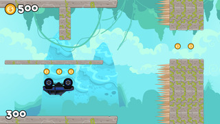 Gravity Trucks – 4x4 Off Road High Speed Racing Screenshot on iOS