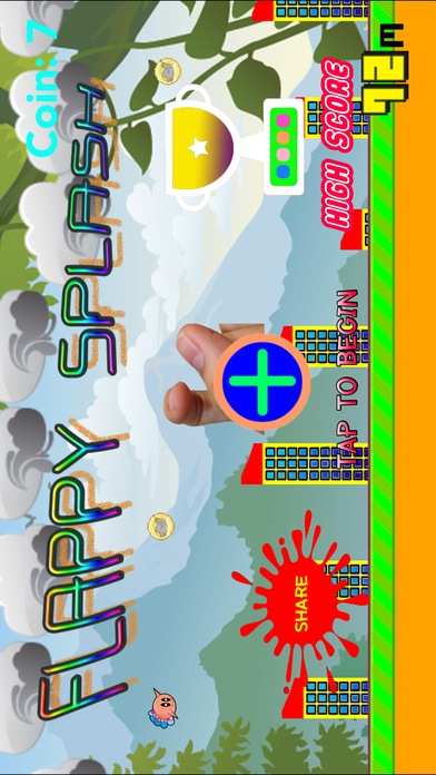 FlappySplash Screenshot on iOS
