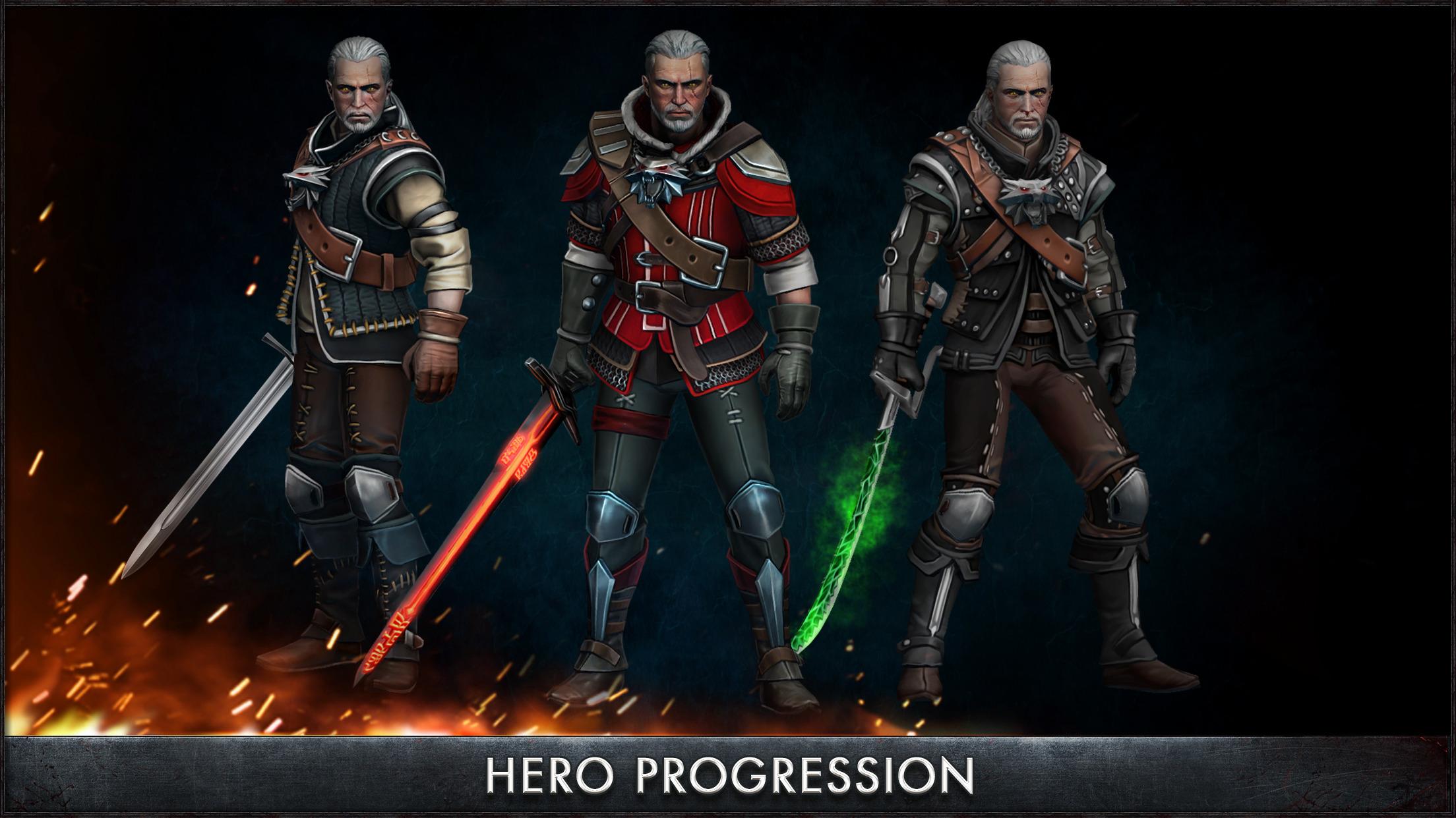 The Witcher Battle Arena screenshot-3