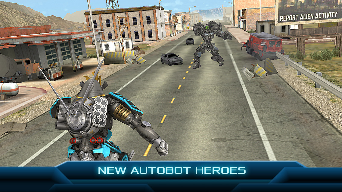 TRANSFORMERS: AGE OF EXTINCTION - The Official Game screenshot-4