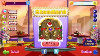Holly Jolly Bingo Screenshot on iOS