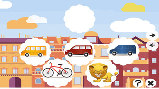 Animated Kids & Baby Game with Crazy Cars and Vehicles For Free Screenshot on iOS