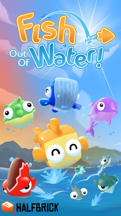 Fish Out Of Water! Screenshot on iOS