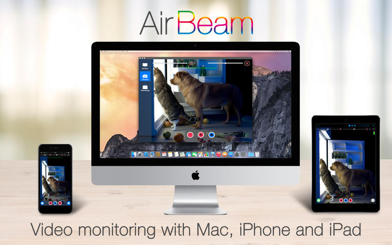 AirBeam Pro 2 0 2 – Monitor cameras on your iPhone or iPad