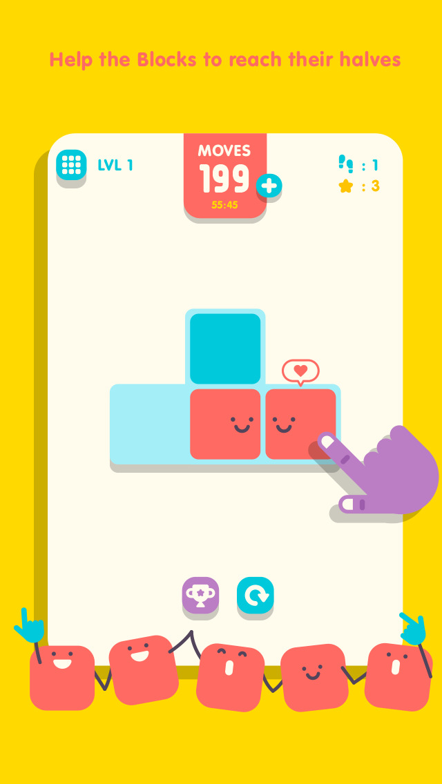Slide The Block - Games,Puzzle,Strategy,Entertainment app for iPhone