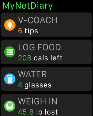 MyNetDiary PRO Calorie Counter Screenshots