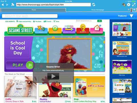 Rover - The Safe Browser for K-12 and Education Screenshot