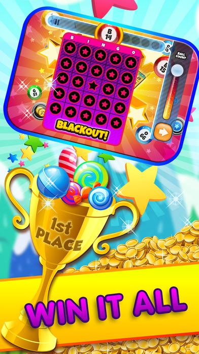 A Bingo Candy Rush 2 Screenshot on iOS