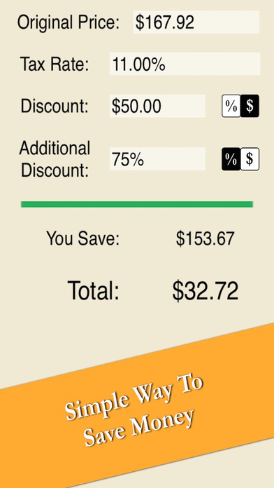 sale price calculator easy quick compute discount and tax free