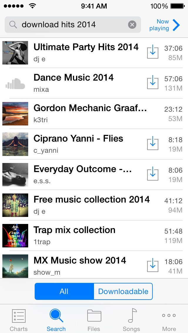 QWE Free Music Download PRO  Mp3 Downloader for SoundCloud