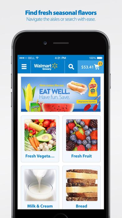 Walmart Grocery Iphone App