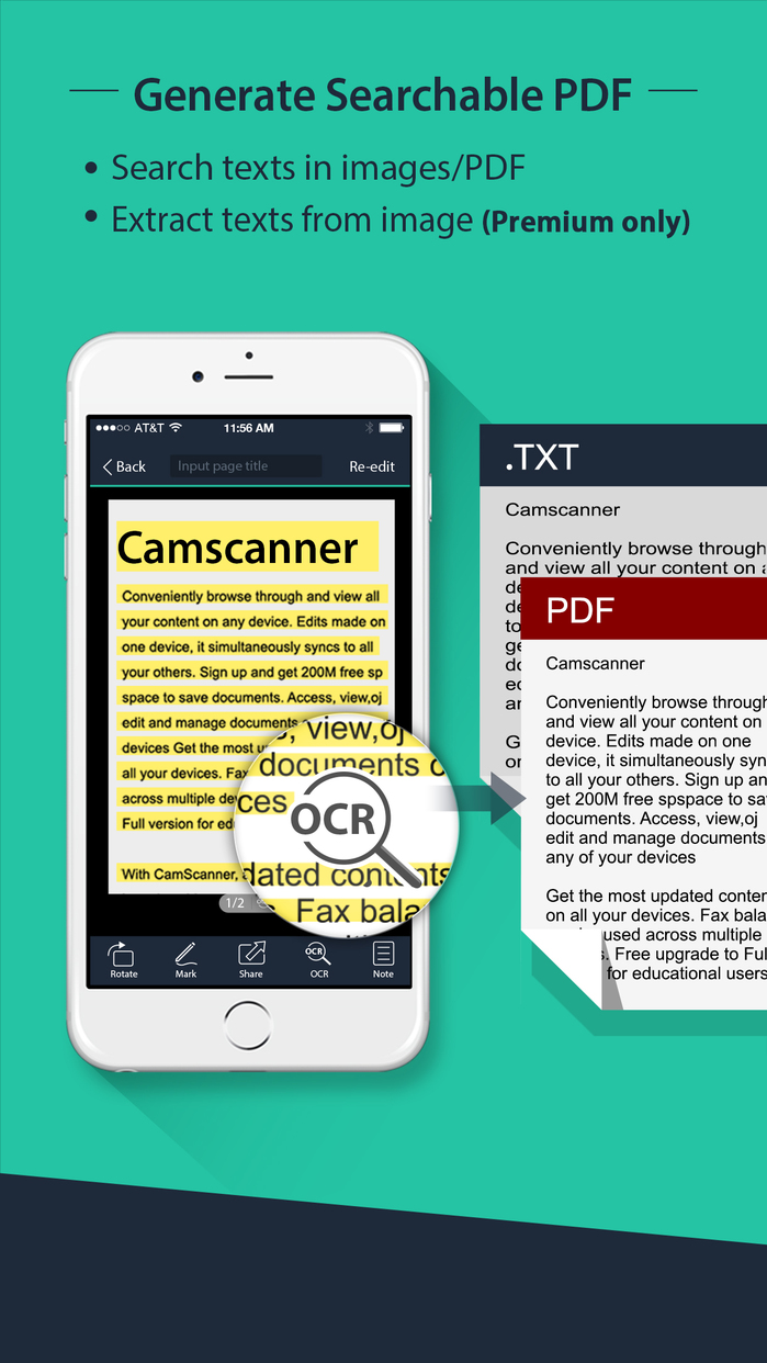 CamScanner | Document Scanner and PDF Creator Screenshot