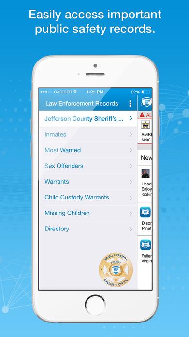 MobilePatrol: Public Safety App Screenshot