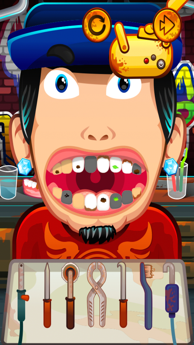 Gangster's Dentist Adventure Screenshot on iOS