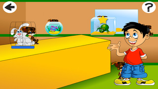 Babys and Kids Game: Play with Birds in the Pet Store Screenshot on iOS