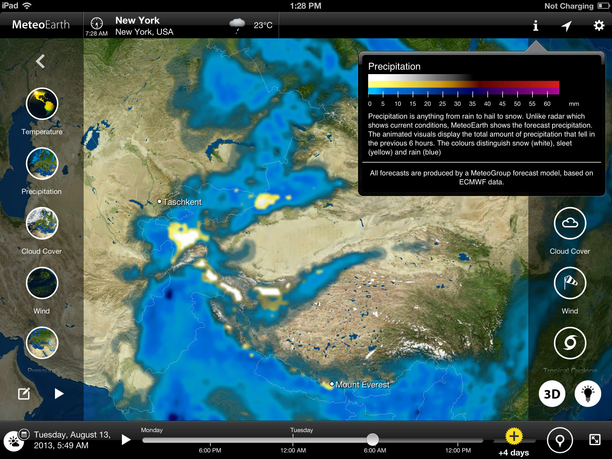 MeteoEarth for iPad screenshot-3