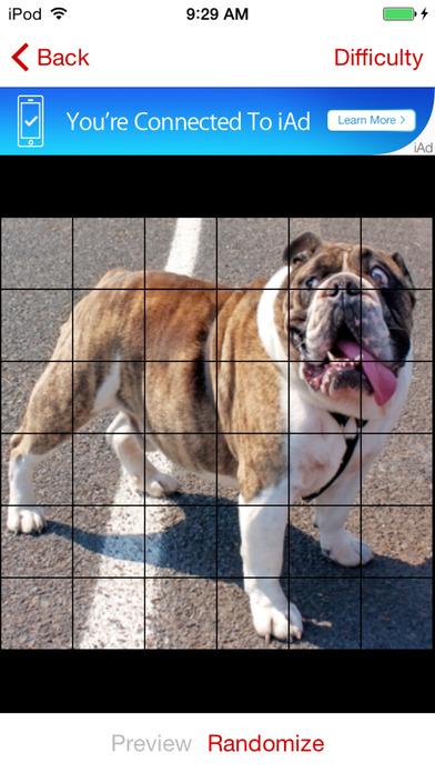 Dog Puzzles Extreme! Screenshot on iOS