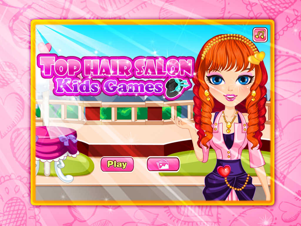 Hair Styling Games Online: App Shopper: Top Hair Salon-Kids Games (Games