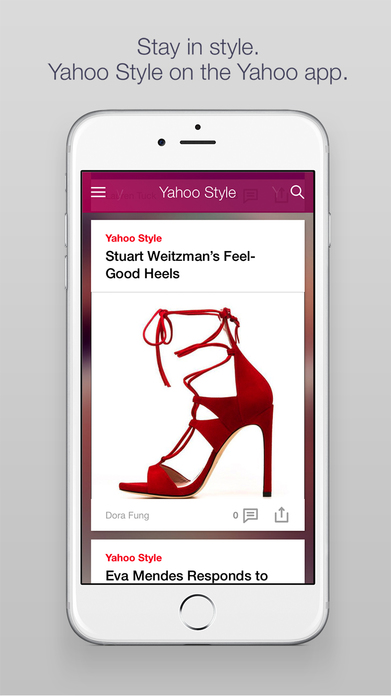 Yahoo - News, Finance, Business, Sports & More Screenshot