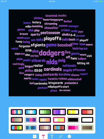 Tweetroot for Twitter - Create Word & Tag Clouds from Tweets! Screenshot