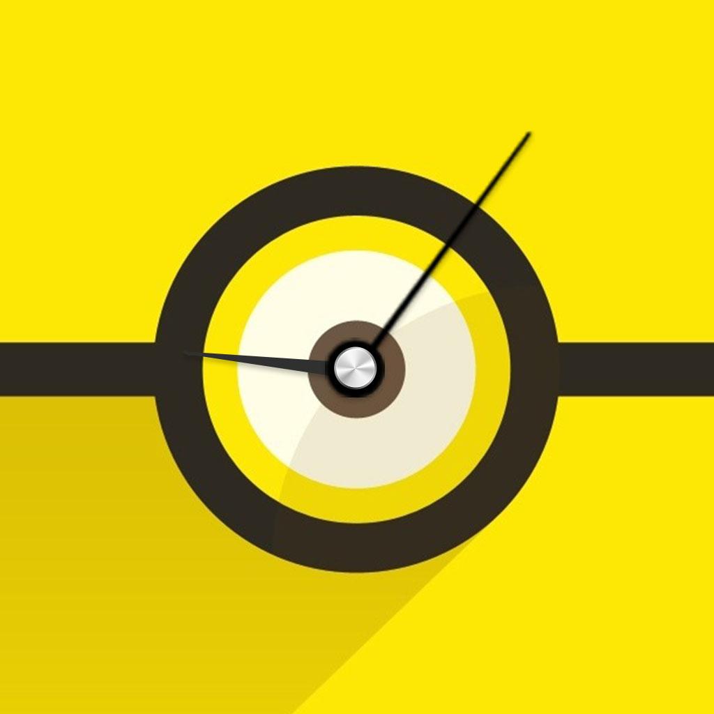 Minion Clock for The Minions - Despicable Me version