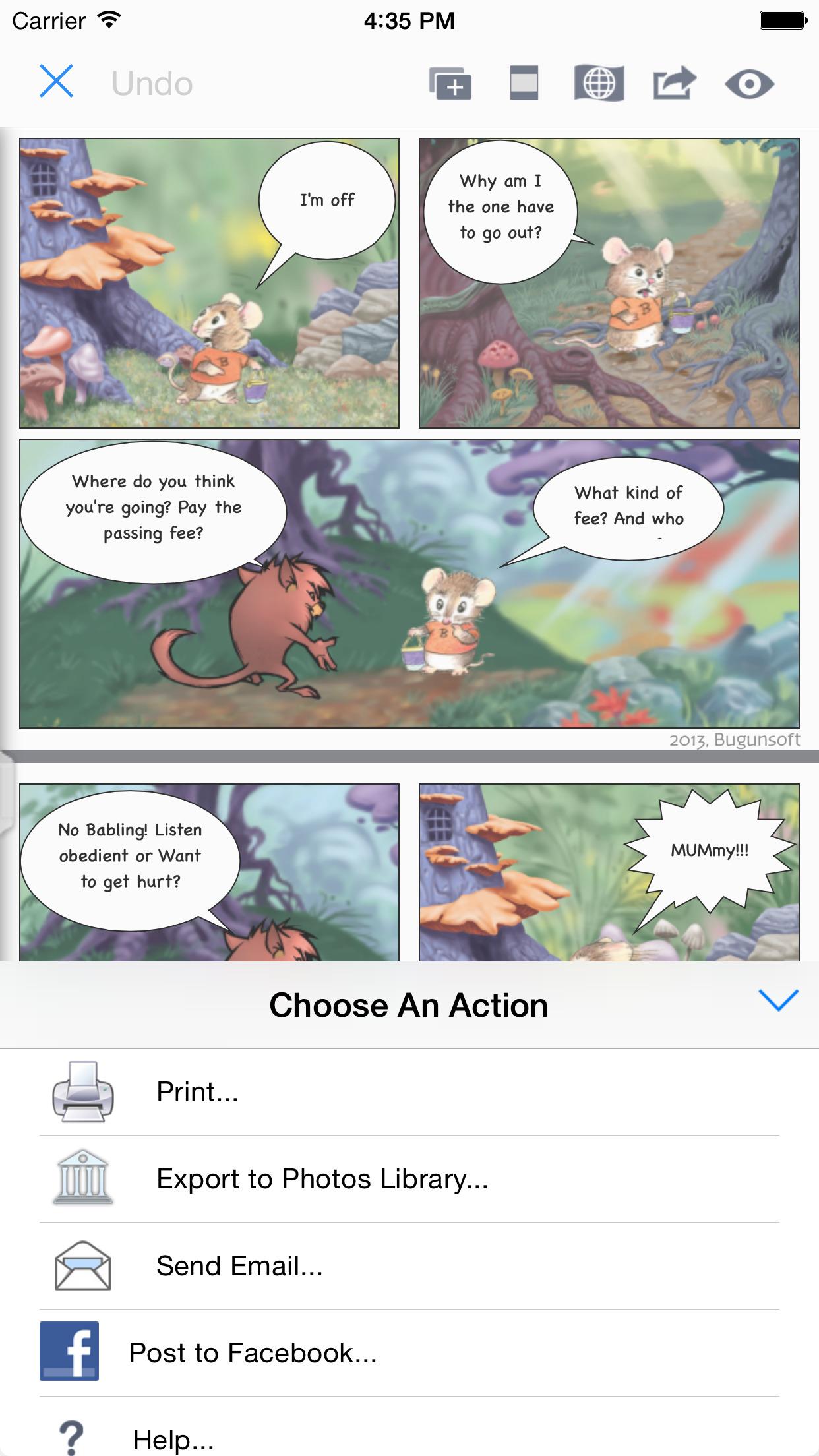 Comic Maker HD screenshot-3