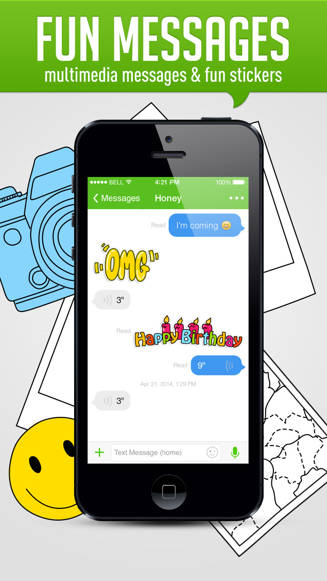 HiTalk - Free international and local calling & texting Screenshot