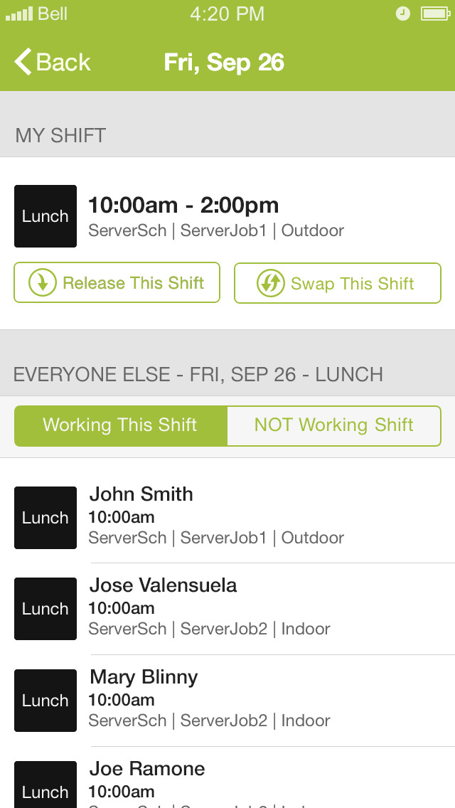 Hotschedules App Free Iphone