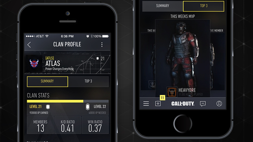 call of duty elite mobile app not working